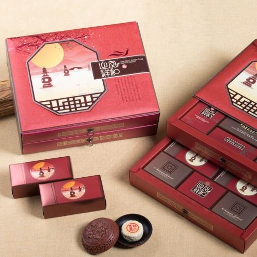 迎凤祥和 1060g 华美苏式月饼礼盒