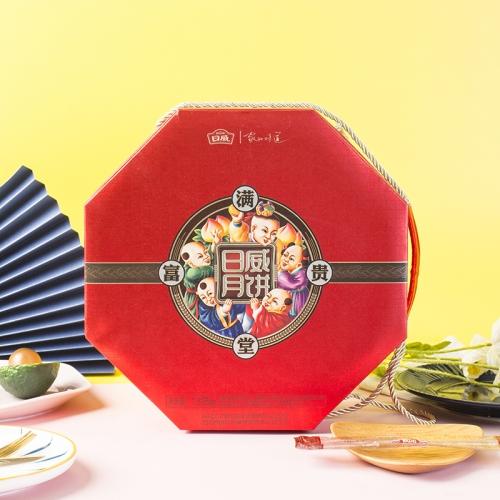 日威满堂富贵月饼礼盒 1325g