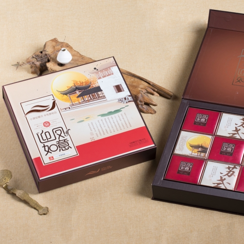 迎凤如意 540克 华美苏式月饼礼盒