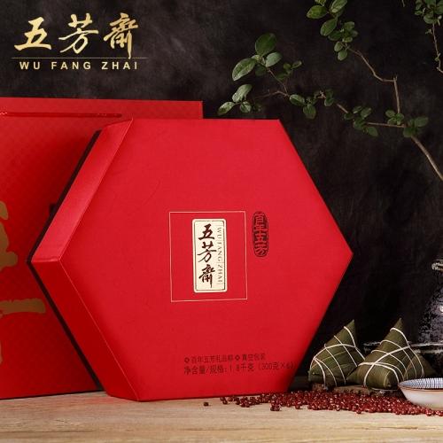 五芳斋 百年五芳高端礼品粽 6口味 18只粽子 1800g