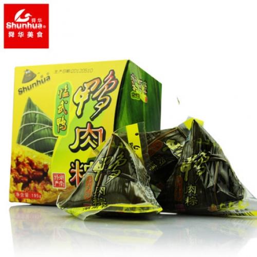 舜华鸭肉粽礼盒 195g